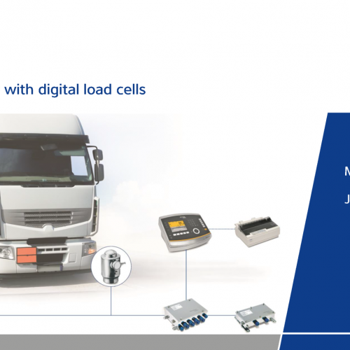Minebea Intec Digital Truck Scale System