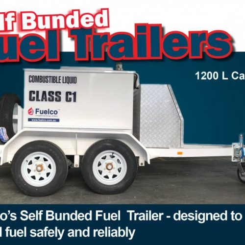 Self Bunded Fuel Trailer